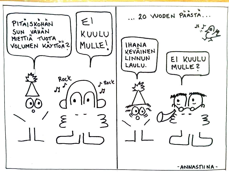 sarjakuva kuulo